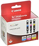 CLI226 3 Color Multi Pack 'Canon CLI226 3 Color Multi Pack Compatible to iP4820, MG5220, MG5120, MG6120, MG8120, MX882, iX6520, iP4920, MG5320, MG6220, MG8220, MX892'