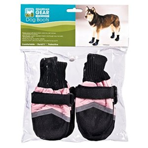 Guardian Gear Oxford Boots for Dogs, XL, Yellow