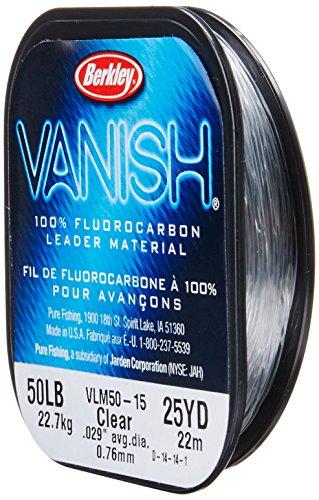 Berkley Vanish Leader Material, Clear-Leader Material, 40-Yard/15-Pound