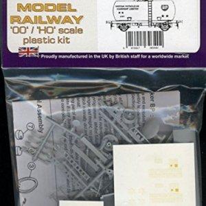 Dapol Model Railway Class B Tanker (BP) Plastic Kit – OO Scale 1/76 51dZHV48S0L