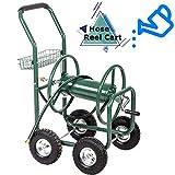 FDW Garden Water Hose Reel Cart Tools Outdoor Yard Water Planting Truck Heavy DutyWater Planting