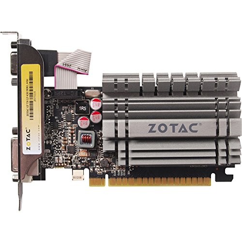 ZOTAC ZT-71115-20L ZOTAC NVIDIA GeForce GT 730 4GB DDR3 VGA DVI HDMI Low Profile PC 153