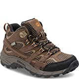 Merrell Kids' Unisex M-Moab 2 Mid Wtrpf Hiking Boot, Earth, 5.5 M US Big Kid