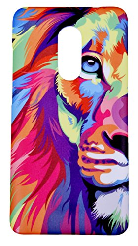 Lakshya creative Lion Face Animated Designer Printed Xiaomi Redmi Note 4 mobile case back cover 45