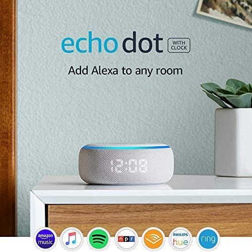 Echo Dot (3rd Gen) - Smart speaker with clock and Alexa - Sandstone 3