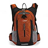 Gelindo Lightweight Daypack, Durable Hydration Pack with 2.5L Water Reservoir for Travel Hiking Running Cycling School, Cooler Bag Keep Liquid for at Least 4 Hours, 18L