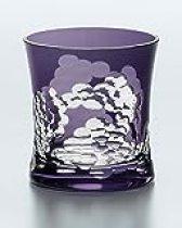 Distilled Spirits Rock Glass Yachiyo Kiriko Genjigumo