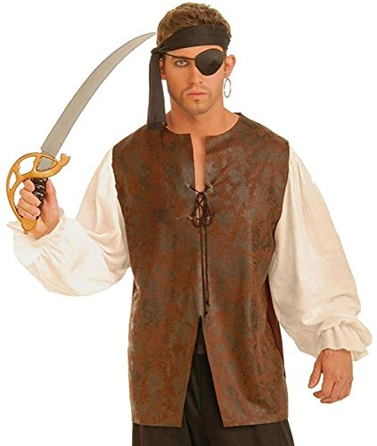 Men's Buccaneer Shirt Adult Costume
