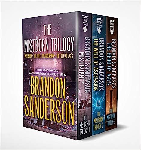 mistborn series Brandon Sanderson