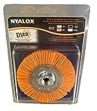 Dico 7200077 Nyalox Wheel brush, 4.5', Orange