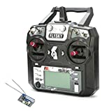FlySky FS-i6X Transmitter and FS-X6B 6 Channel 2.4GHz Receiver Radio Remote Control Combo for Airplane Helicopter Quadcopter Drone
