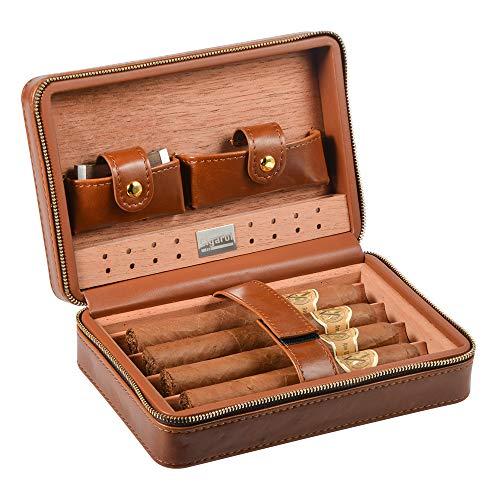 Volenx Leather Cigar Humidor