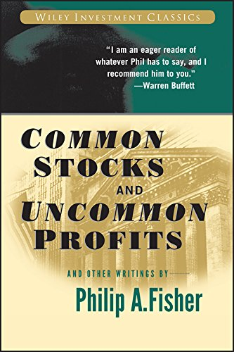Common Stocks and Uncommon Profits  - TOP 5 Livros recomendados por Warren Buffet