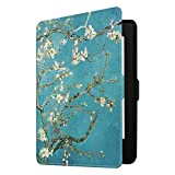 Fintie Slimshell Case for Kindle Paperwhite - Fits All Paperwhite Generations Prior to 2018 (Not Fit All-New Paperwhite 10th Gen), Blossom