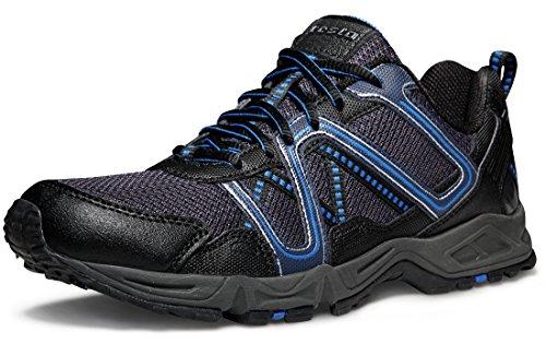 TSLA TF-T320-NVK_Men 10 D(M) Men's All-Terrain Trail Running Shoes T320