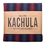 Coalatree Red Kachula Adventure Blanket V2- Packable, Multi-use Blanket Ideal for Traveling, Camping and Urban use