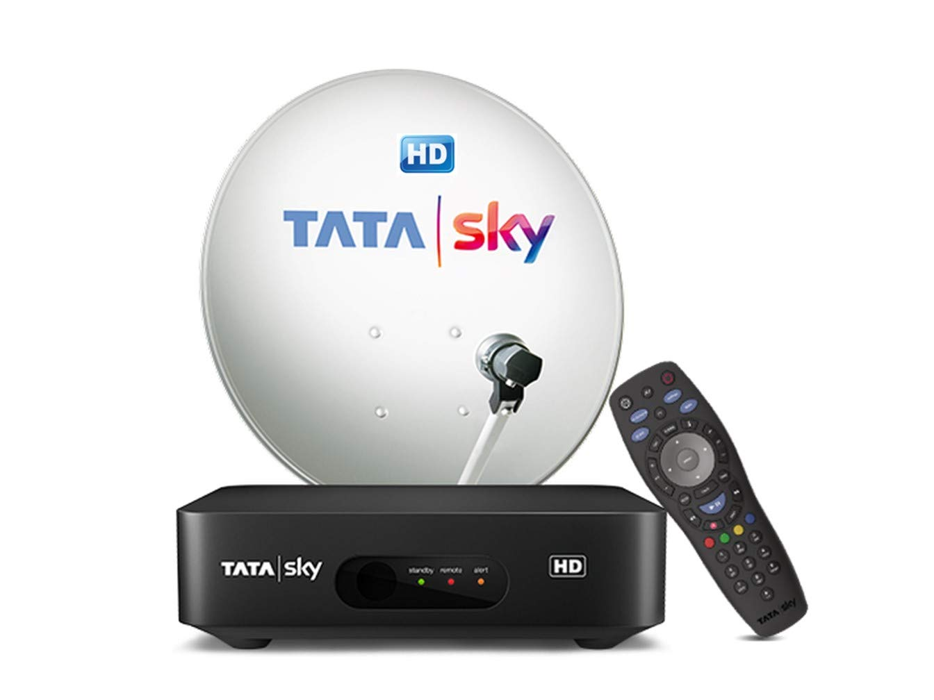 TATASKY HD Set Top Box with 6 Month Hindi Lite Pack 7