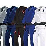 Sanabul Essentials v.2 Ultra Light Pre Shrunk BJJ Jiu Jitsu Gi (A2, White) See Special Sizing Guide