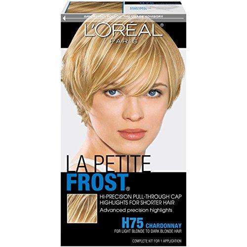 L'Oréal Paris Le Petite Frost Cap Hair Highlights For Shorter Hair, H75 Chardonnay