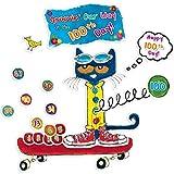 Edupress Pete The Cat 100 Groovy Days of School Bulletin Board (EP62384)