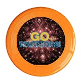 Kim Lennon Go Warriors Custom Outdoor Plastic Flying Disc Colors And Styles Vary Orange Size One Size