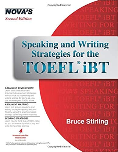Speaking And Writing Strategies For The Toefl Ibt Bruce