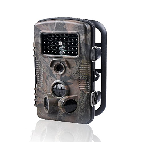Wosports Trail Camera 1080P 12MP Wildlife Camera Motion Activated Night Vision with 2.4' LCD Display for Wildlife Hunting and Home Security