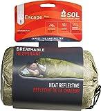 S.O.L Survive Outdoors Longer Escape Series 70 Percent Heat Reflective Durable Lightweight Emergency Bivvy, Green