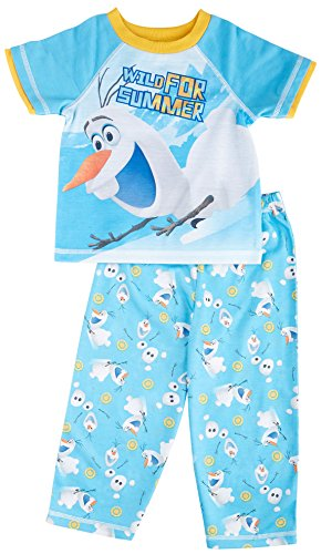 Disney Frozen Olaf Wild For Summer Toddler Pajama for Little Boys (3T)