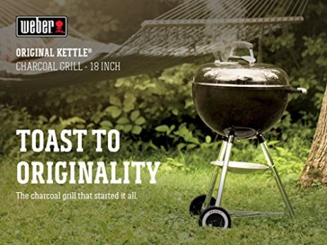 Weber-441001-Original-Kettle-18-in-Charcoal-Grill-Black