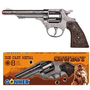 Gonher Diecast Metal 8 Ring Shot Cowboy Gun 51e 9ilHwVL