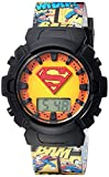DC Comics Girls' Quartz Watch with Plastic Strap, Multi, 19 (Model: SUP4081)
