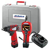 ACDelco ARZ1204D Li-ion 12V Inspection Camera + Drill 2-in-1 Combo Kit, 2 battery included