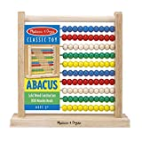 Melissa & Doug Abacus Classic Wooden Toy (Developmental Toy, Brightly-Colored Wooden Beads, 8 Extension Activities, Great Gift for Girls and Boys - Best for 3, 4, and 5 Year Olds)