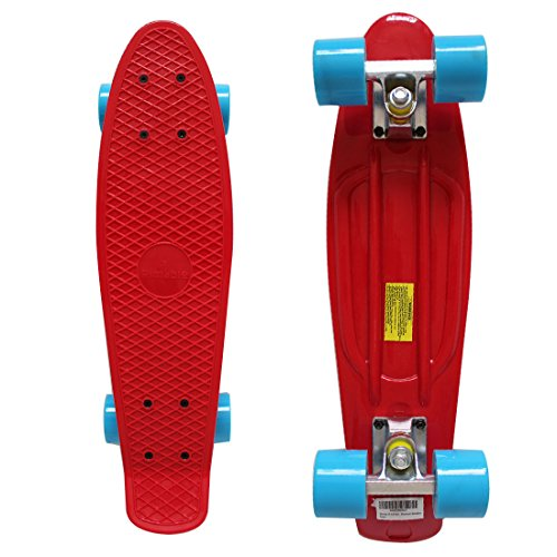 Rimable 22 Inch Style Skateboard Red&blue