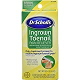 Dr. Scholl's Ingrown Toenail Pain Reliever, 1 kit, (w/Gel, 12 retainer rings & 12 protection bandages) (Pack of 1)