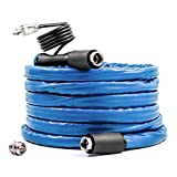 Camco 25ft TastePURE Heated Drinking Water Hose - Lead and BPA Free, Reinforced for Maximum Kink Resistance, 1/2 Inner Diameter (22922)