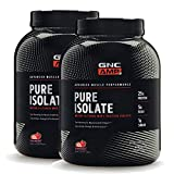GNC AMP Pure Isolate - Strawberry - Twin Pack