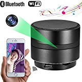 MINGYY Bluetooth Speaker Camera Wireless Wifi 4K Hd Camera Night Vision Home Security Baby Monitor Office Nanny Cam Phone App Camcorder