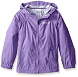 Columbia Big Girl's Switchback Rain Jacket, Grape Gum, L