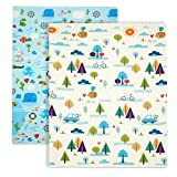 Baby Play Mat, XPE Foam Double Sided Floor Mat Soft Anti-Skid Large Baby Gym Mat Area Rugs Waterproof Non-Toxic Safe Yoga Mat Exercise Mat (71'x47' Puzzle)