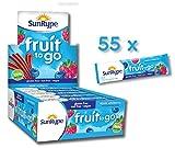 SunRype Apple Wildberry Fruit to Go 100% Fruit Strip Snacks - Nut-Free (Case of 55)