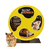 Silent Runner 9' - Pet Exercise Wheel + Cage Attachment