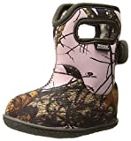 Bogs Baby Bogs Waterproof Insulated Toddler/Kids Rain Boots for Boys and Girls, Camo Print/Pink Mossy Oak Country, 4 M US Toddler