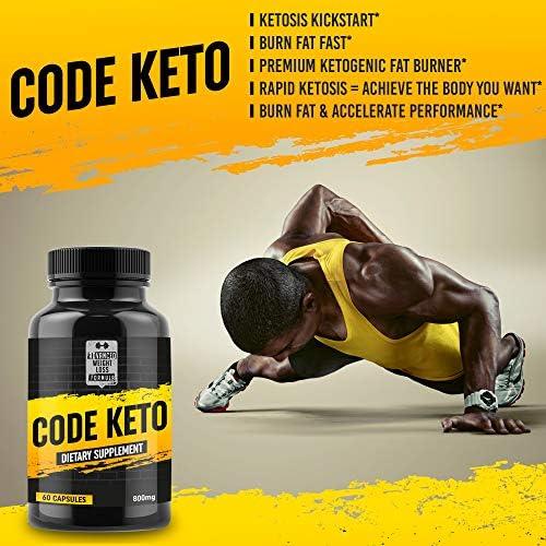 Keto Diet Pills - Best Ketosis Supplement for Women and Men - Code Keto - 60 Capsules 6