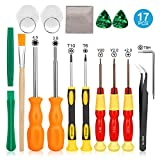 Keten Triwing Screwdriver for Nintendo, 17in1 Professional Full Security Screwdriver Game Bit Repair Tool Kit for Nintendo Switch/JoyCon, NES/SNES/GBA