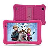 [Upgraded] Dragon Touch Y80 8 inch Kids Tablet, Quad-Core Processor, 8' IPS HD Display, 2GB RAM 16GB, Android 8.1 Oreo Tablets, Kidoz Pre-Installed with All-New Disney Content - WiFi Only 2019 - Pink