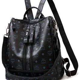 Women Backpack PU Leather Anti-theft Waterproof Casual Rucksack Daypack School Shoulder Bag Handbags