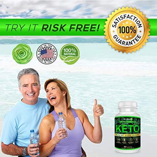 Keto Pills That Work Fast for Women & Men - Keto BHB Capsules Salts Exogenous Ketones Supplement - Keto Diet Pills Energy Boost, Raspberry Ketones, No Caffeine - Get in Ketosis for Ketogenic Diet 6