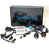 Innovited AC 55W BI-XENON HI/LOW DUAL BEAM HID Kit - 9004 9007 6000K - 2 Year Warranty